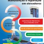 Manutenção e reparação em elevadores